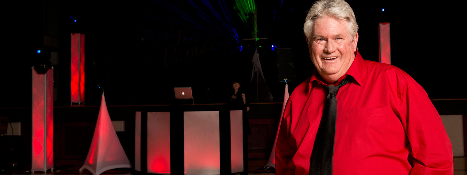 John Davies - Owner of Party Hits Music and Light Show - Wisconsin DJ Dance Weddings Events