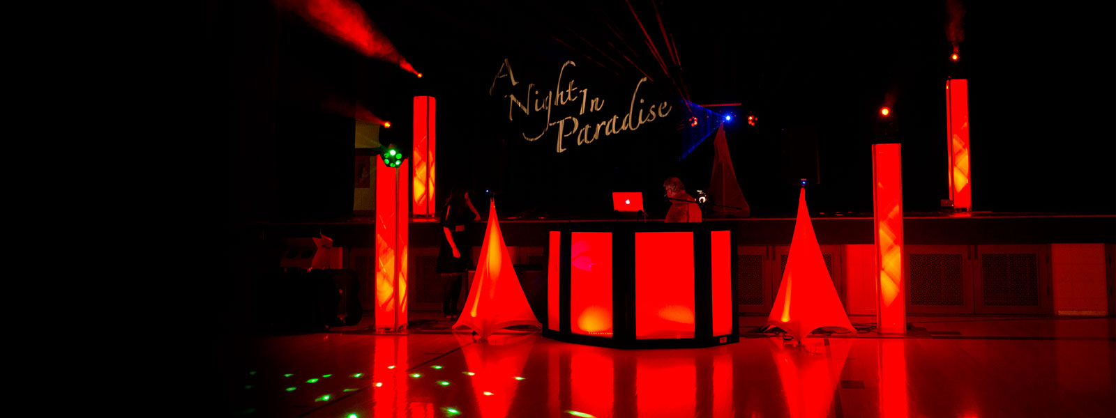 Custom Lighting for your event - Party Hits Music and Light Show - Wisconsin DJ Dance Weddings Events