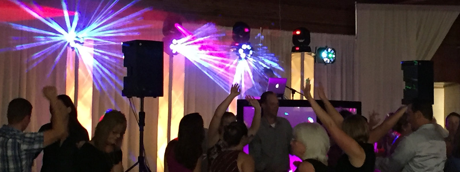 Wedding Dance Party - Party Hits Music and Light Show - Wisconsin DJ Dance Weddings Events