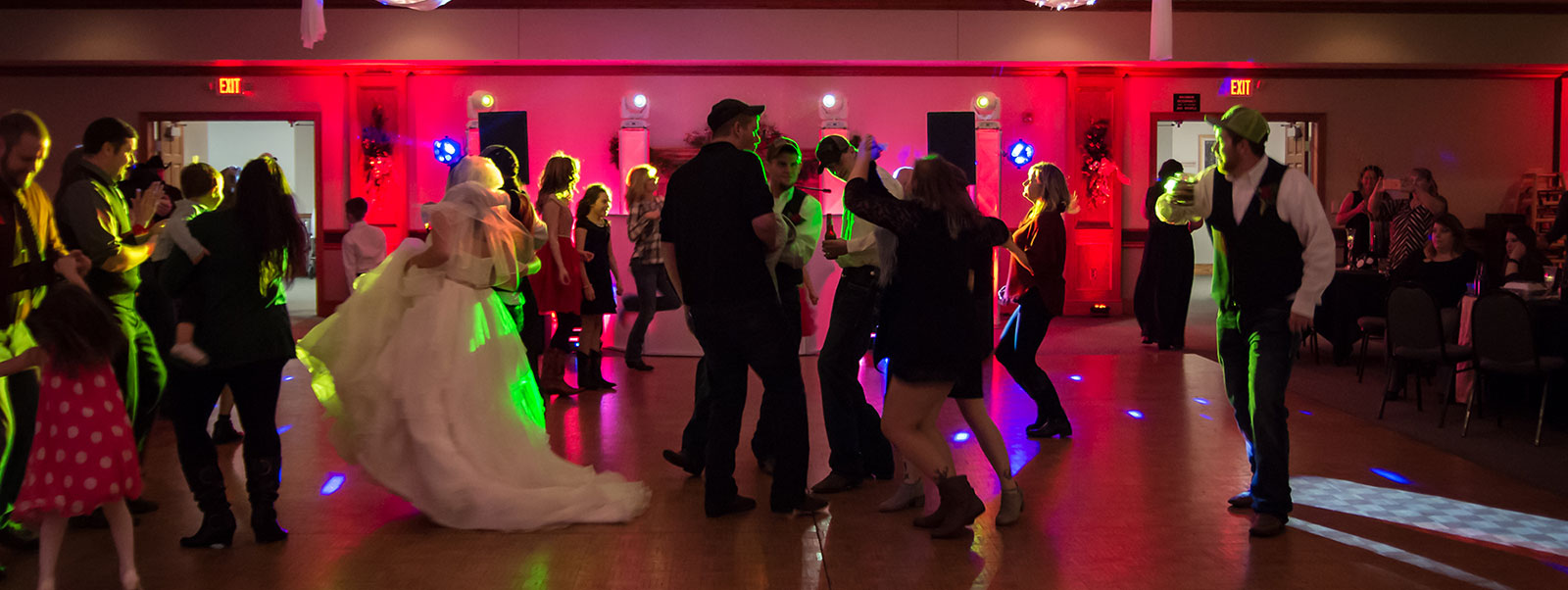 Party Hits Music and Light Show - Wisconsin DJ Dance Weddings Events