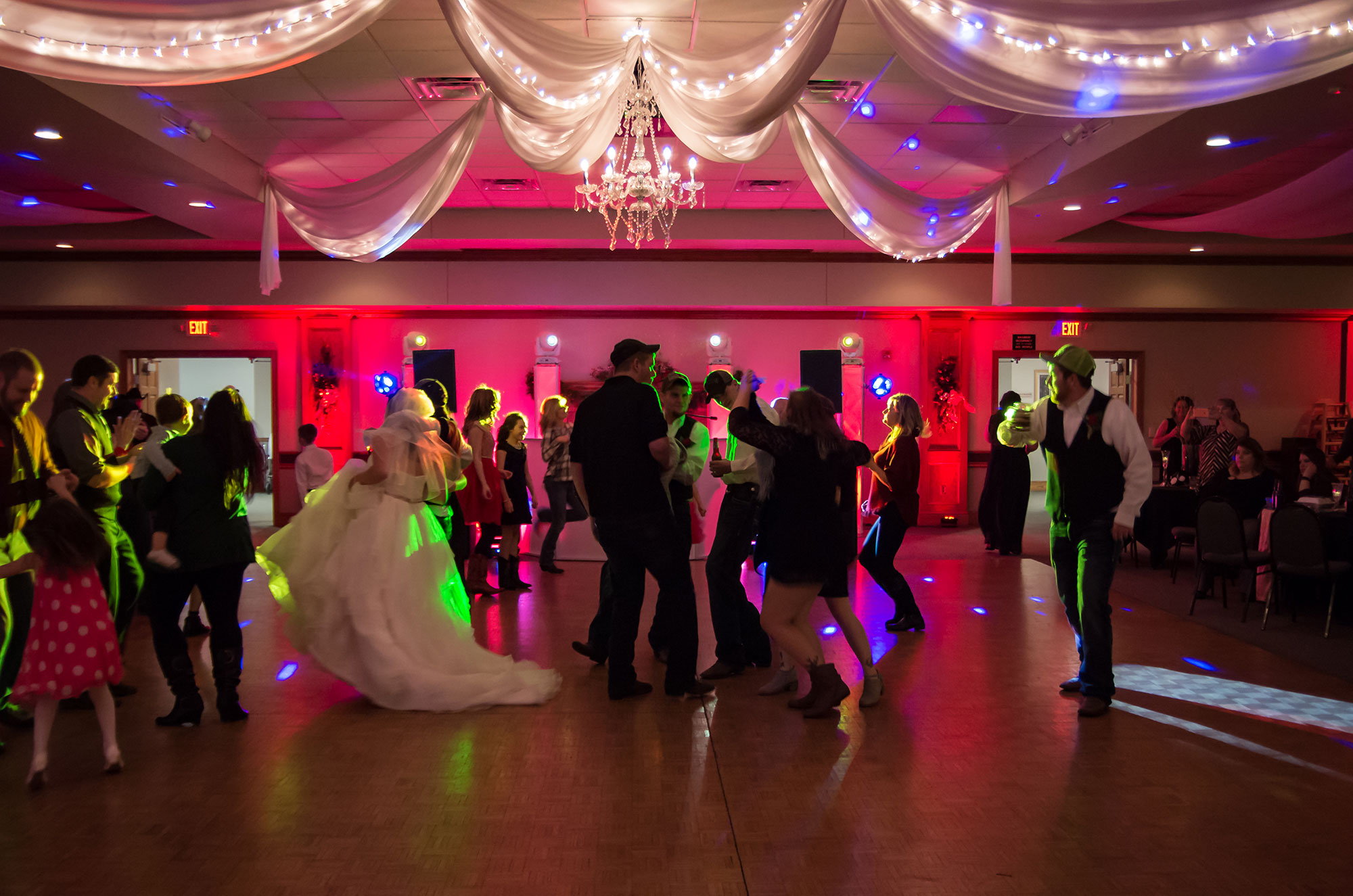 Wedding Dance - Party Hits Music and Light Show - Wisconsin DJ Dance Weddings Events