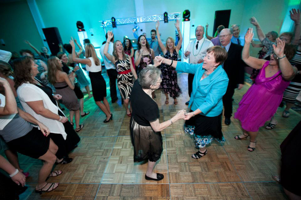 Happy Dancers - Party Hits Music and Light Show - Wisconsin DJ Dance Weddings Events
